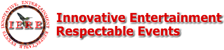 Innovative Entertainment Respectable Events company